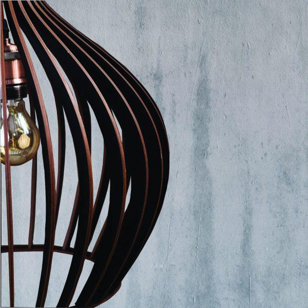 Lustra din lemn rustica Hazel culoare negru handmade 100% produsa in Romania. Alege dintr-o gama variata de lustre rustice pentru foisor sau pentru casa ta