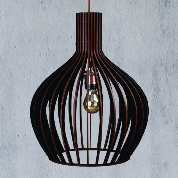 Lustra din lemn rustica din lemn Hazel culoare negru handmade 100% produsa in Romania. Alege dintr-o gama variata de lustre rustice pentru foisor sau pentru casa ta