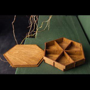 Cutie hexagon - Alege dintr-o gama larga de cuti de cadou, cuti de cadouri, cutii de lemn, cutie pt cadou