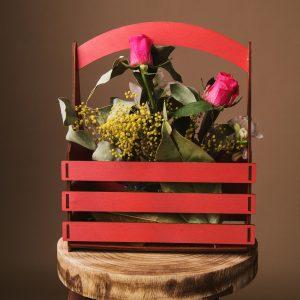 Cos flori - Alege dintr-o gama larga de cuti de cadou, cuti de cadouri, cutii de lemn, cutie pt cadou, cutii handmade, cuti handmade