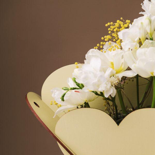 Cutie pentru flori in forma de inima - Alege dintr-o gama larga de cuti de cadou, cuti de cadouri, cutii de lemn, cutie pt cadou, cutii handmade, cuti handmade