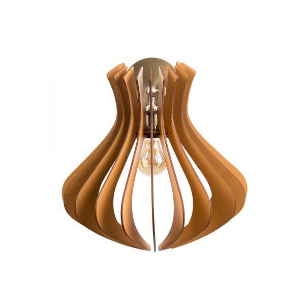 Aplica din lemn Caliope de culoare Brown - Aplica din lemn handmade 100% Romania