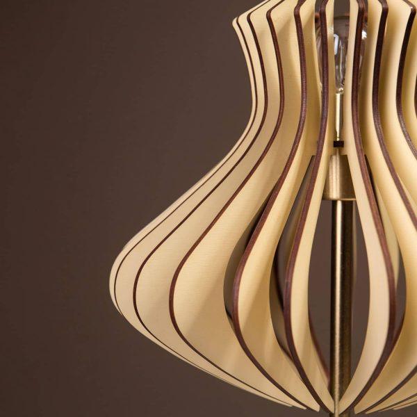 Lampa crem de birou handmade 100% produsa in Romania