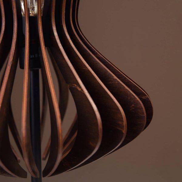 Lampa wenge handmade 100% produsa in Romania