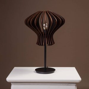 Lampa de birou handmade wenge 100% produsa in Romania
