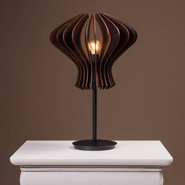 Lampa de noptiera handmade cu bec 100% produsa in Romania