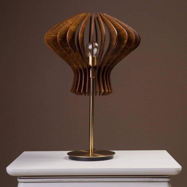Lampa din lemn pentru noptiera 100% produsa in Romania