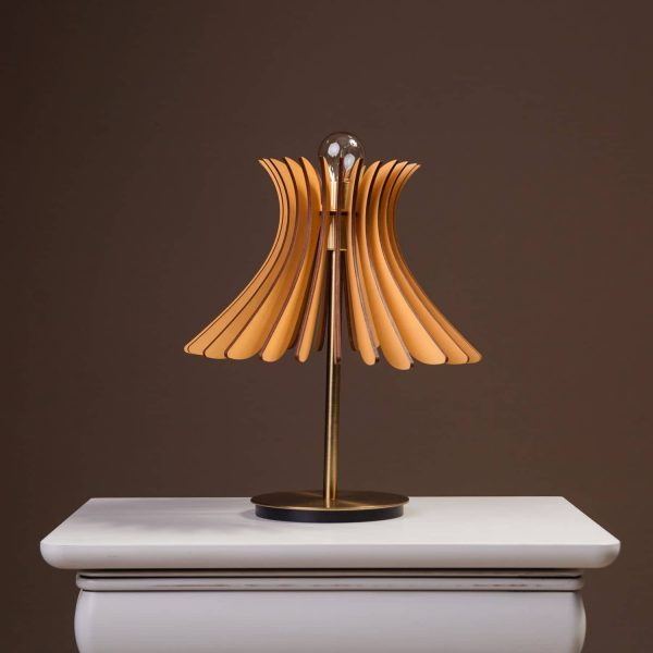 Lampa noptiera brown 100% produsa in Romania handmade