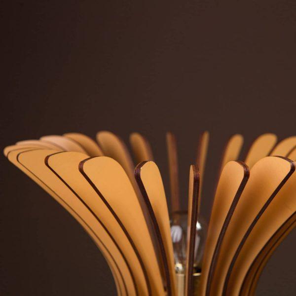 Lampa noptiera maro 100% produsa in Romania handmade