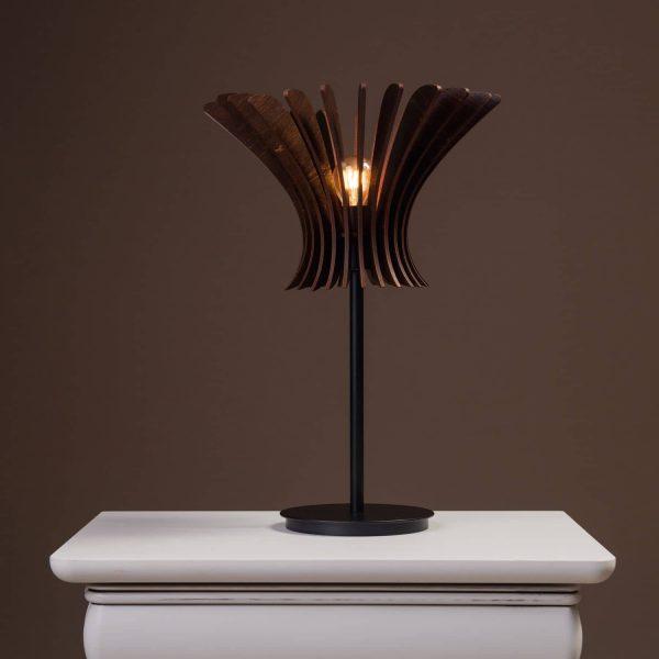 Lampa moderna pentru noptiera 100% produsa in Romania. Lampi de birou mici si moderne si lampi de noptiera moderne.